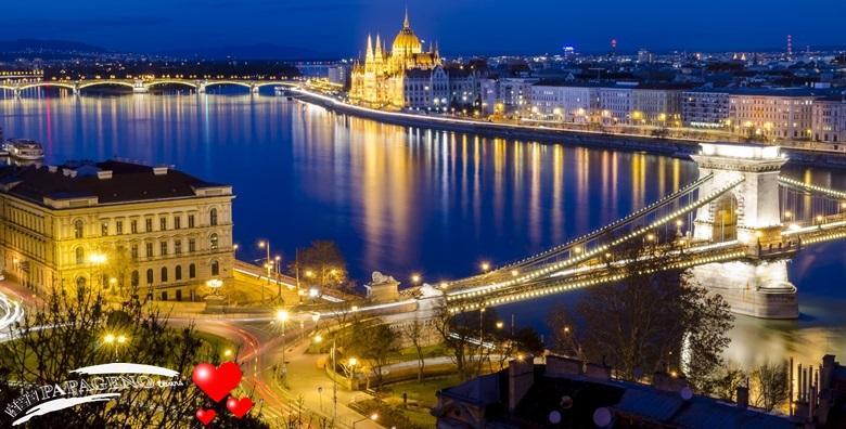 Valentinovo u Budimpešti - 2 dana s prijevozom i doručkom