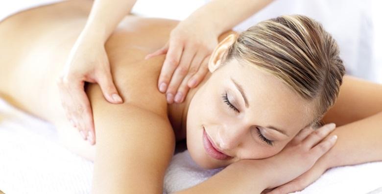 2 parcijalne masaže leđa ili nogu u trajanju 30 minuta