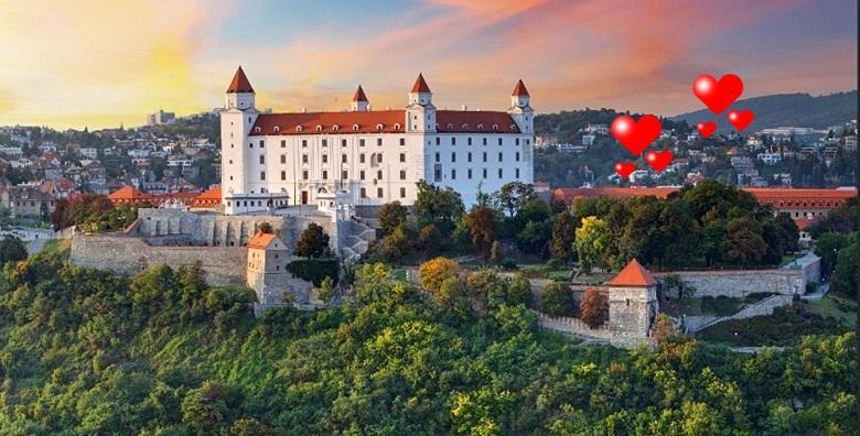 Valentinovo u Bratislavi - 2 dana s prijevozom i doručkom