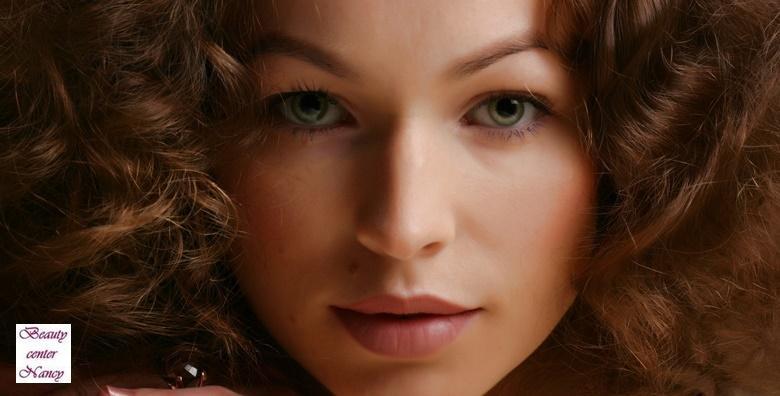 Trajno uklanjanje dlačica na licu uz tretman kapilara