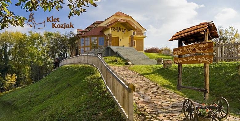 Klet Kozjak, Sv. Križ Začretje - 2 dana s doručkom za dvoje