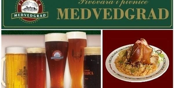 Pivnica Medvedgrad - pivnički buncek sa prilozima