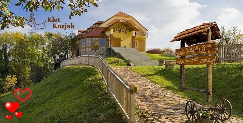Valentinovo u seoskoj idili Kleti Kozjak - 2 dana