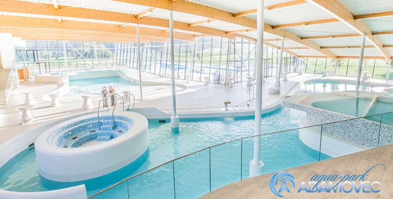 Aquapark Adamovec - 2 ulaznice i mesna plata za dvoje