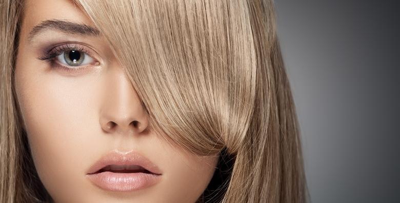 Pramenovi ili bojanje uz šišanje, masku, fen frizuru