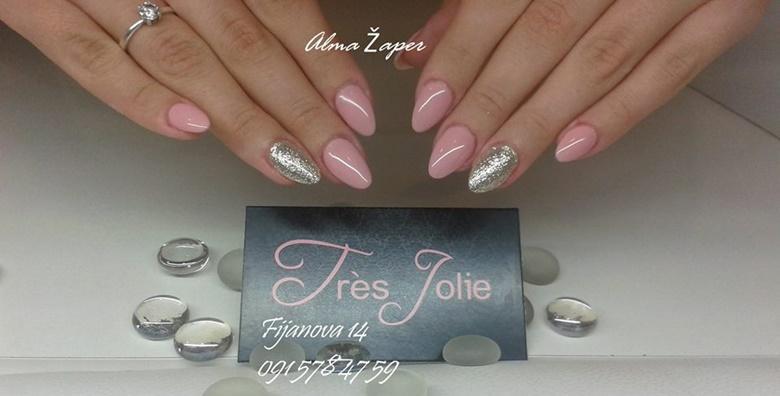 Geliranje noktiju nail art metodom