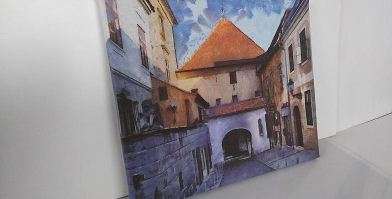 Slika na canvas platnu 45x45cm