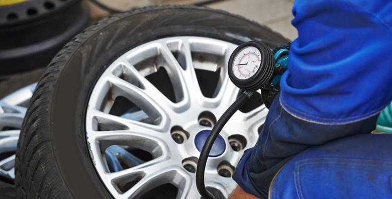 Gume - montaža i balansiranje 4 gume s čeličnim felgama