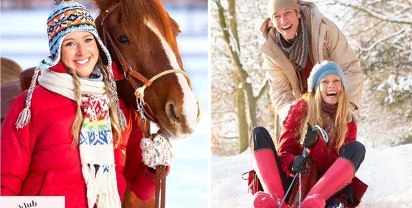Skijanje s konjima+cjelodnveno sanjkanje za129kn