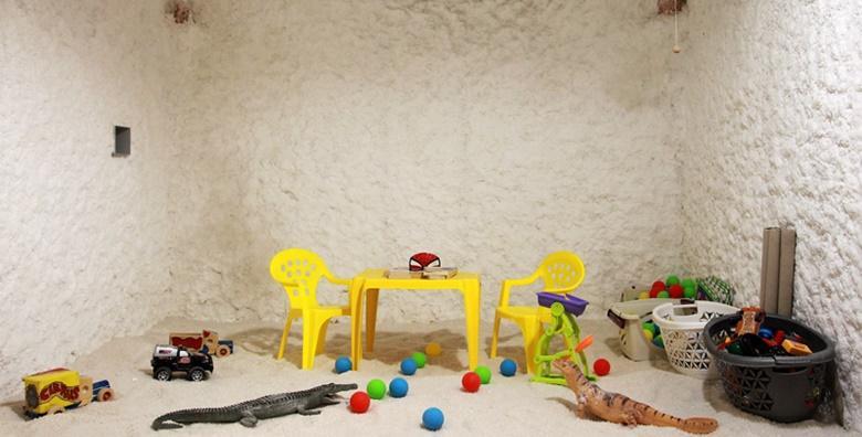 Slana soba - 8 haloterapija za djecu do 9 godina