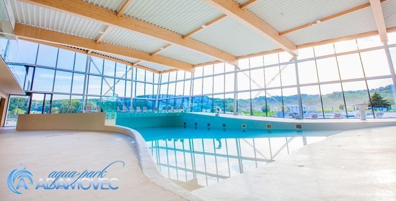 Aquapark Adamovec - cjelodnevna ulaznica za kupanje i pizza