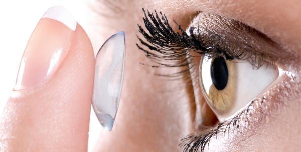 Kontaktne leće - specijalistički pregled, par mekih leća i otopina