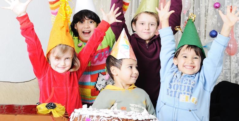 Rođendan za 15-ero djece, 2h zabave