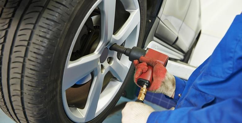 Zamjena guma, montaža, balansiranje i pregled automobila