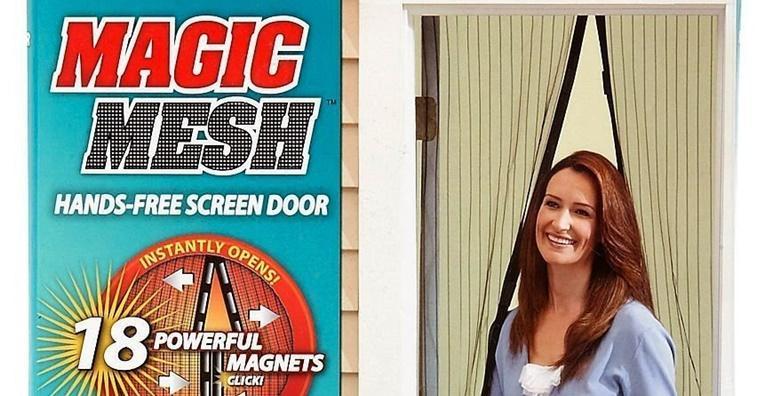 Mreža za vrata protiv komaraca i insekata