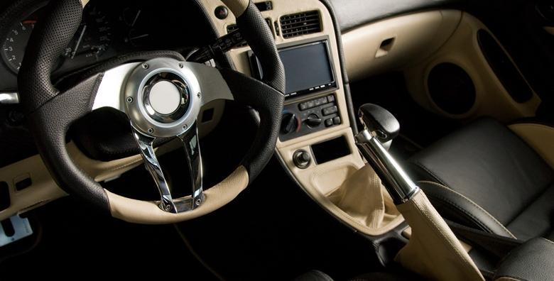 Kemijsko čišćenje cijele unutrašnjosti automobila
