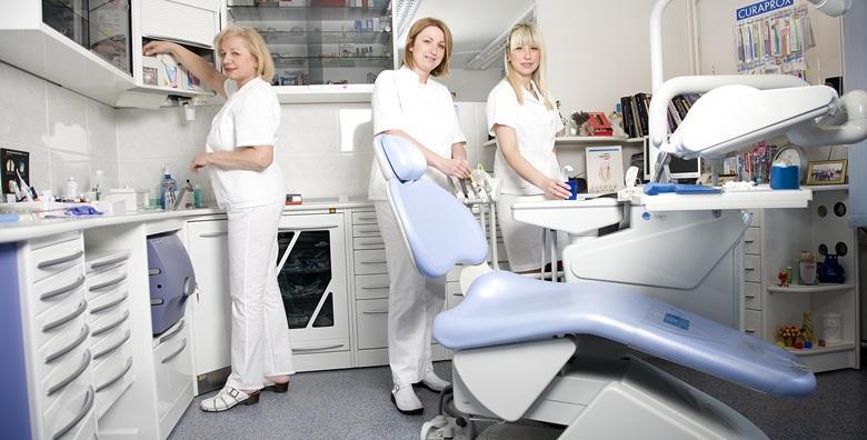 Izbjeljivanje zubi i paket stomatoloških usluga