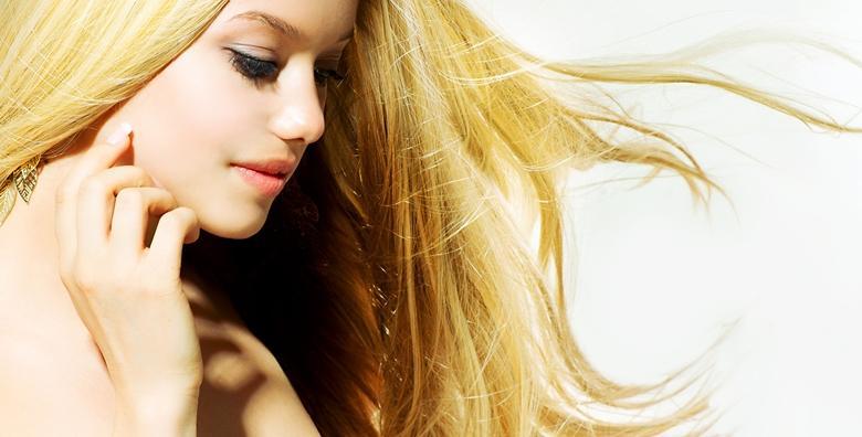 Površinski pramenovi, šišanje, fen frizura i pranje kose