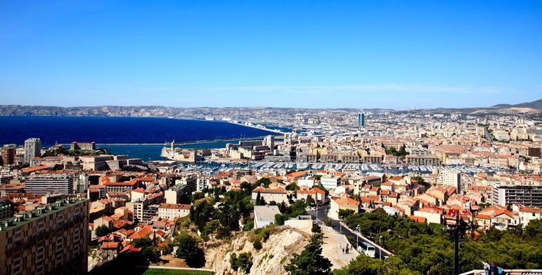 Marseille - 5 dana s doručkom za dvoje i povratni let
