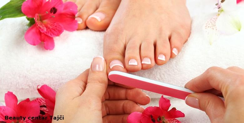 Medicinska pedikura, trajni lak, piling i masaža stopala
