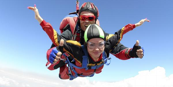 Skok s padobranom za 895kn