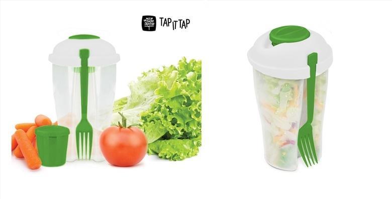 Plastična posuda za salatu