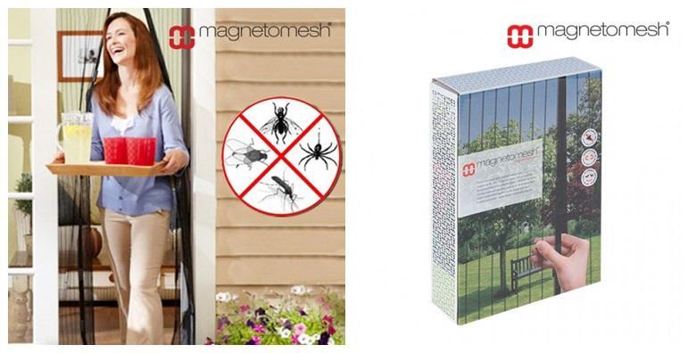 Magnetska zavjesa protiv insekata
