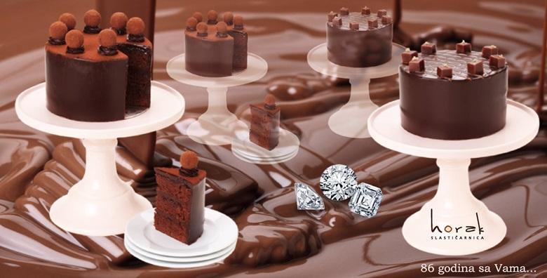 Čokoladna torta – obiteljska slastica u novom ruhu po omiljenoj recepturi Slastičarnice Horak za samo 49 kn!