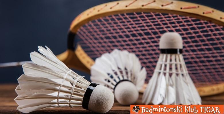 Badminton - mjesec dana treninga uz opremu