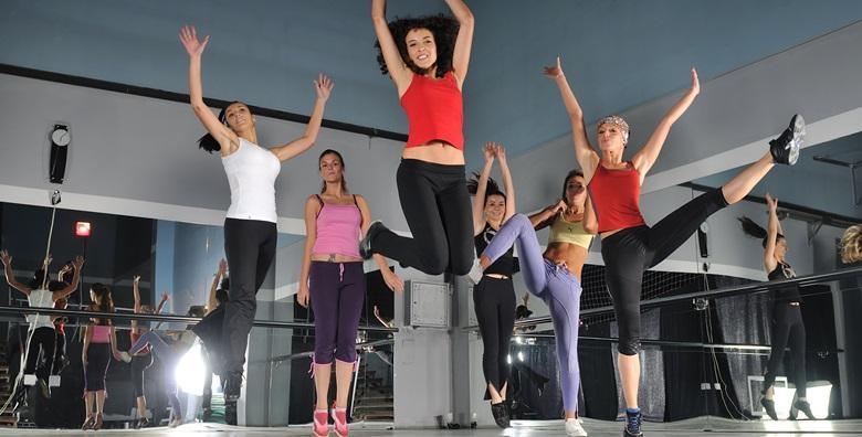 Zumba fitness za žene - mjesečna članarina