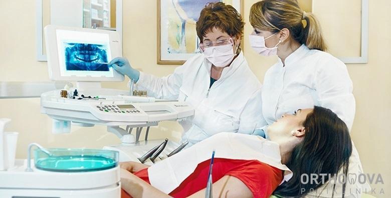 Stomatološki pregled, čišćenje zubnog kamenca, pjeskarenje i