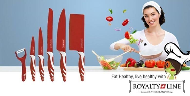 Set vrhunskih noževa švicarske kvalitete