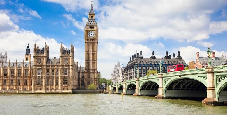 London - 4 dana za dvoje, povratni let, pristojbe, hotel***