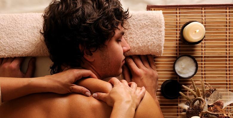 Suha i parna sauna uz masažu cijelog tijela