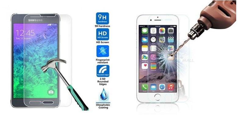 Zaštita od kaljenog stakla za iPhone ili Samsung