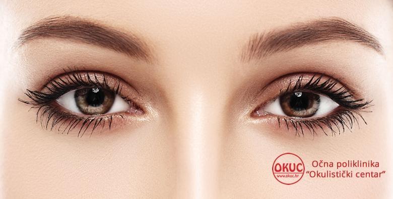 Korekcija gornjih ili donjih vjeđa oba oka