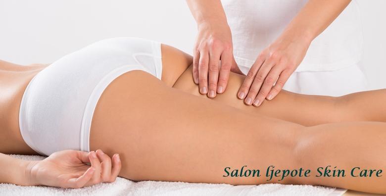 5 kavitacija, 3 anticelulitne masaže i 5 limfnih drenaža