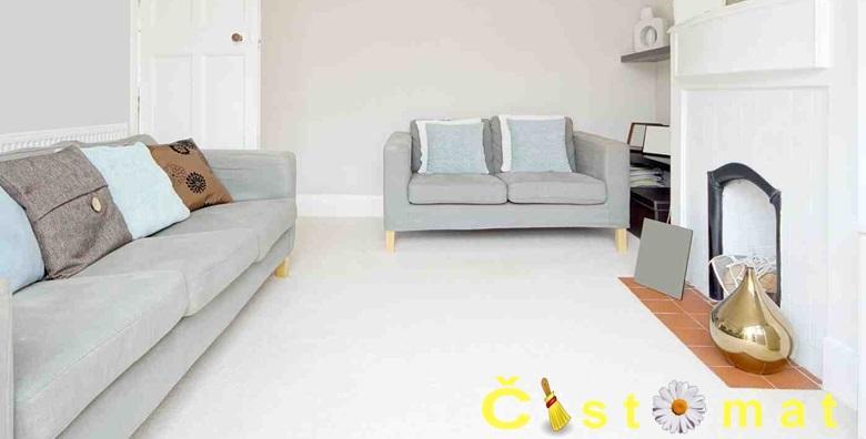 Kemijsko čišćenje tepiha, kutnih garnitura, madraca