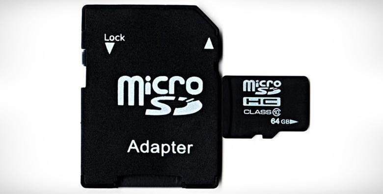 Micro SD memorijska kartica - 64 GB, 128 GB ili 256 GB