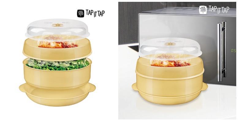 Zdjela za kuhanje na pari u mikrovalnoj pećnici