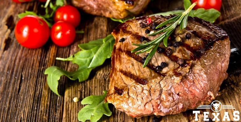 Biftek - 200g odreska u Texas steak & grill house