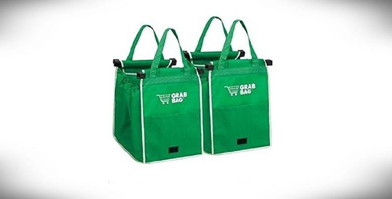 2 torbe za višekratnu kupovinu