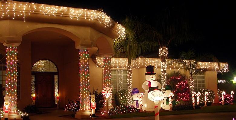 Viseće LED lampice u bijeloj boji ili šarene
