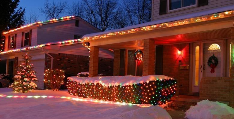 Božićne LED lampice duljine od 10 do 38 metara