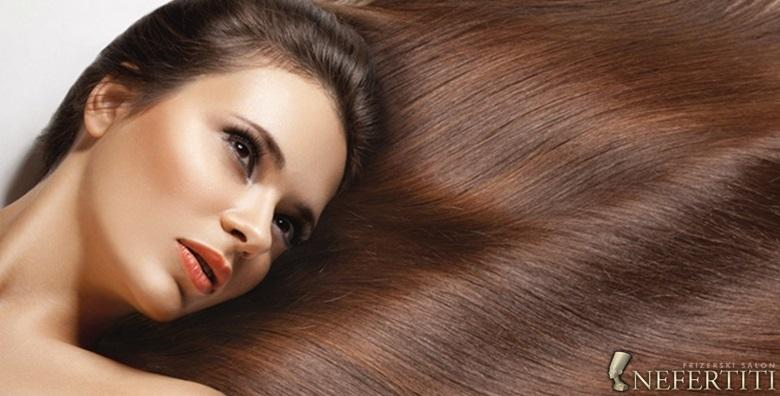 Šišanje vrućim škarama, fen frizura i pranje kose