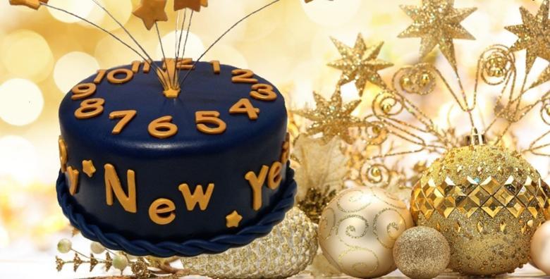 Novogodišnja torta s 4 vrste čokolade