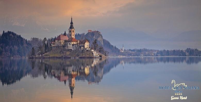 POPUST: 61% - BLED - povedite dragu osobu na savršen odmor tik do jezera!  2 noćenja s doručkom za dvoje u Hotelu Vila Bojana 4* za 745 kn! (Hotel Vila Bojana)
