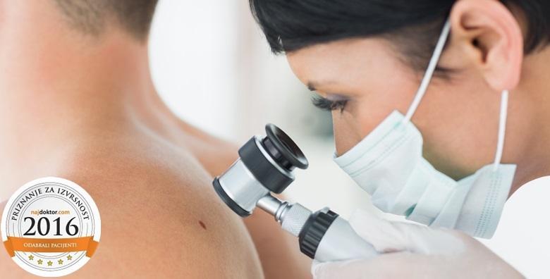 Uklanjanje madeža i dermatoskopski pregled