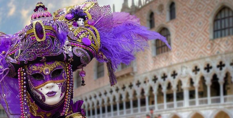 Karneval u Veneciji - izlet  s prijevozom