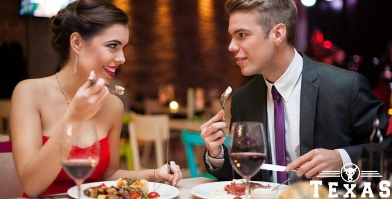 Valentinovo u Texas steak&grill house za 2 osobe